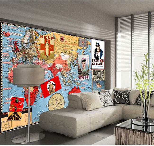 War and Peace Vintage Poster paper collage backdrop living room bedroom den large mural 3D wallpaper eee pc 1225b motherboard for asus laptop mainboard fully tested