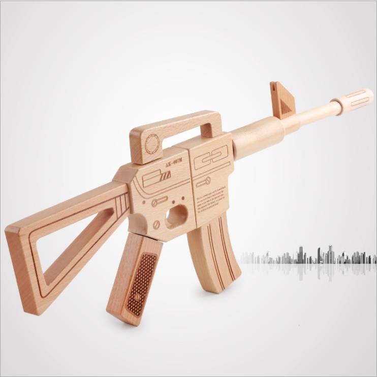 HEYFON Asamblea Juguete de madera Pistola Rifle-Classic - Deportes y aire libre - foto 1