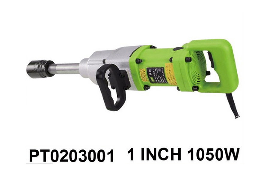 1 Inch Electric Impact Wrench 1050w 1000n M Torque Spanner M24 M36