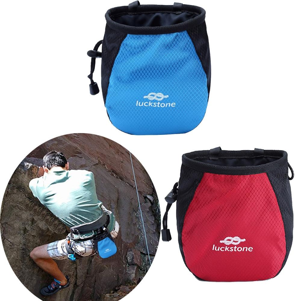 Climbing Gym Magnesium Powder Storage Adjustable Waist Belt Nonslip Chalk Bag Bouldering Gymnastics Weightlifting Pouch