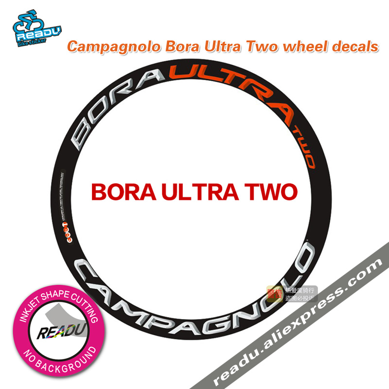 Campagnolo Bora Ultra Two wheelset stickers height rims ...