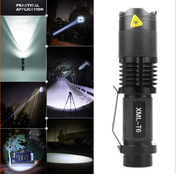 New arrival 5000 Lumens High Power LED Torch CREE XML-T6 LED Flashlight Zoomable Torch light camp 5 modes tactical Flashlight 2x18650 powerful led flashlight 5000 lumen super bright zoomable focus led torch cree xml t6 led tactical outdoor lamp light