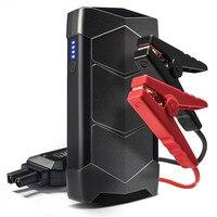 12V Car Jump Starter 400A Peak Smart Flashlight Starting Device New Smart Power Clips Mini Emergency