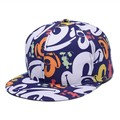 Personality Floral Cloth Heart Peony Mickey Lily Baseball Caps Outdoor sports gorras Hip Hop hats Women men Mesh snapback