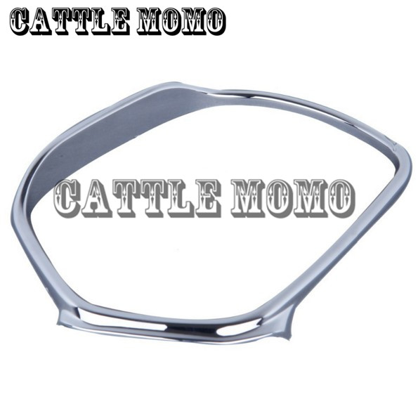 High Quality Motorcycle Mirrors Trim Decoration For Honda GOLDWING GL1800 01-2012 Motobike Mirrors Frame Trim Decoration Chrome high quality abs chrome 2pcs up grill trim lower grill trim grill decoration trim grill streamer for honda city 2015 216