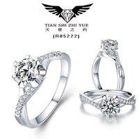 18K WHITE GOLD INLAIN MOISSANIT DIAMOND RING/1.50CT EMERAL CUT MOISSANIT RING/DIAMOND RING FOR SALE
