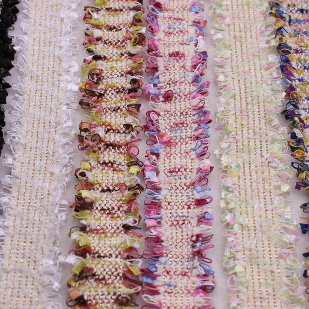 1 Yard Vintage Nylon Ricamato Nappe Lace Trim Nastro In Tessuto Fatti A Mano FAI DA TE Costume Vestito Forniture Per Cucire Mestiere Per Capelli Pinze