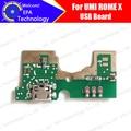 100% Nuevo original para UMI ROMA X Placa USB + Micrófono usb tablero de carga enchufe Accesorio de reemplazo de la reparación