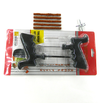 Car Auto Tubeless Tyre Repair Tool Kit Puncture Plug Tire Cement Set for Motorcycle Bike car tire repair tools tubeless tyre puncture repair plug kit needle patch fix tools cement useful set