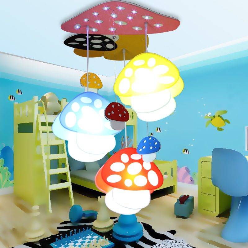 Children lamp Led cartoon Pendant Lights mushroom light bedroom kindergarten children in activities dome pendant lamps led suction dome light fashion cartoon study bedroom children s room lights