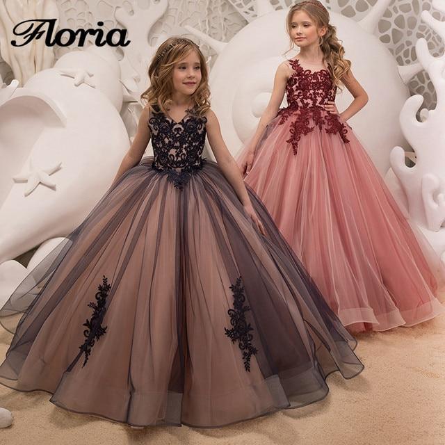 Ball Gown Flower Girl Dresses For Weddings Vestidos Daminha 2018 ...