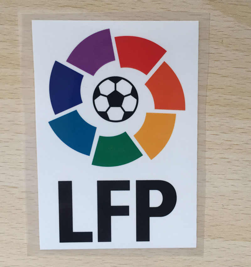 2014-2015 LFP patch La Liga patch Player versie game Patch Big LFP Voetbal Badge