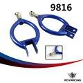 Braços de suspensão de corrida pqy-ajustável camber traseiro/bar para 89-94 nissan 240sx s13/180sx pqy9816