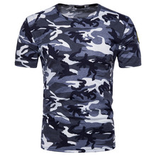 New fashion Military fan Camo T-shirts Russia Brave men Short sleeve O-neck Camouflage print army red Green blue knit Tees Tops