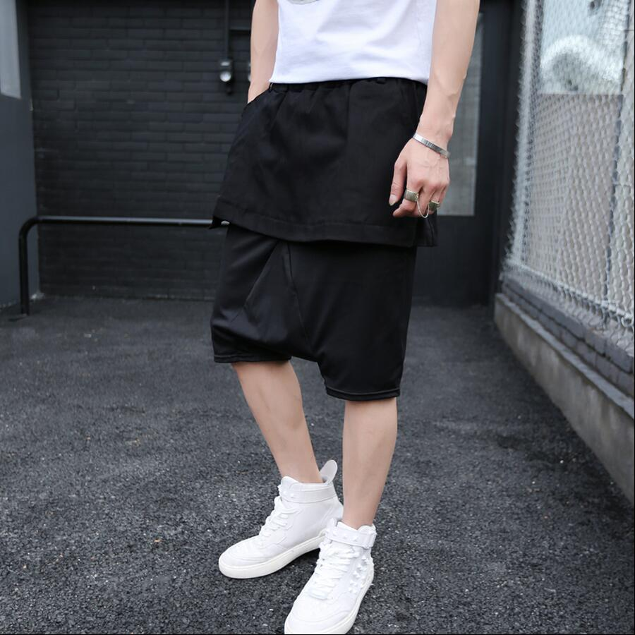 De Jupe Noir Cinq Pantalon Styliste hop xl m La Deux Pantalon Minutes Hip Haroun Faux Shopping Free bleu C0wxqza0