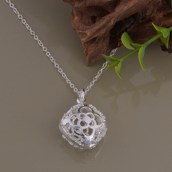 wholesale High quality silver Fashion jewelry chains necklace pendant WN-1296