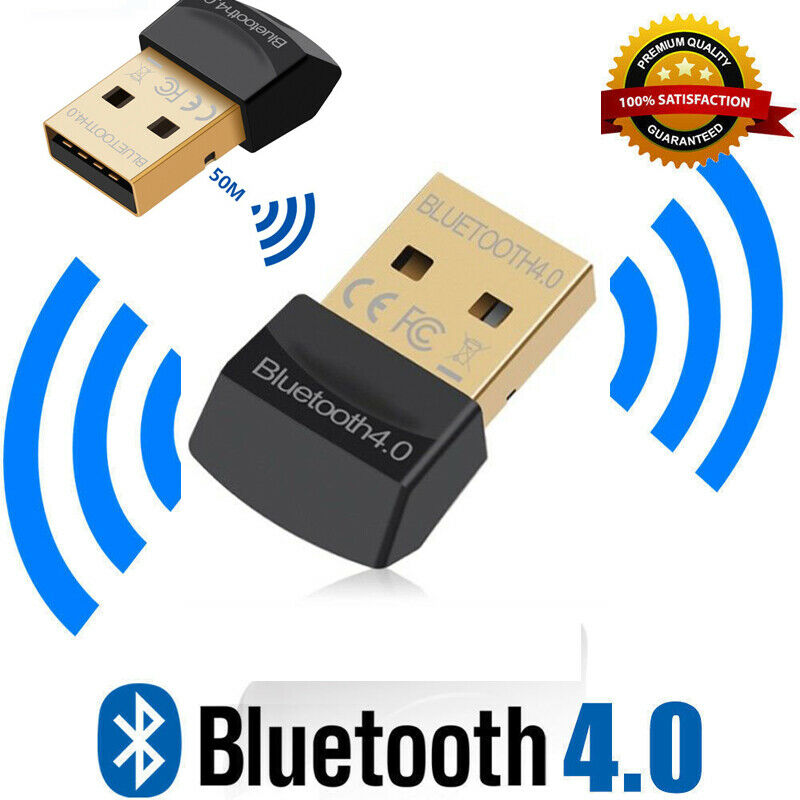Wireless USB <font><b>Bluetooth</b></font> <font><b>Adapter</b></font> 4.0 <font><b>Bluetooth</b></font> Dongle Receiver Adaptador <font><b>Bluetooth</b></font> Transmitter For Computer <font><b>PC</b></font> Windows Laptop image