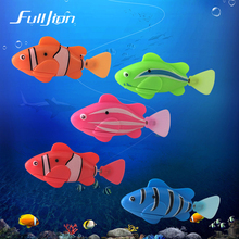 Fulljion font b Baby b font Bath Toys Fish Water Toy Children Play Electric Robotic Fish