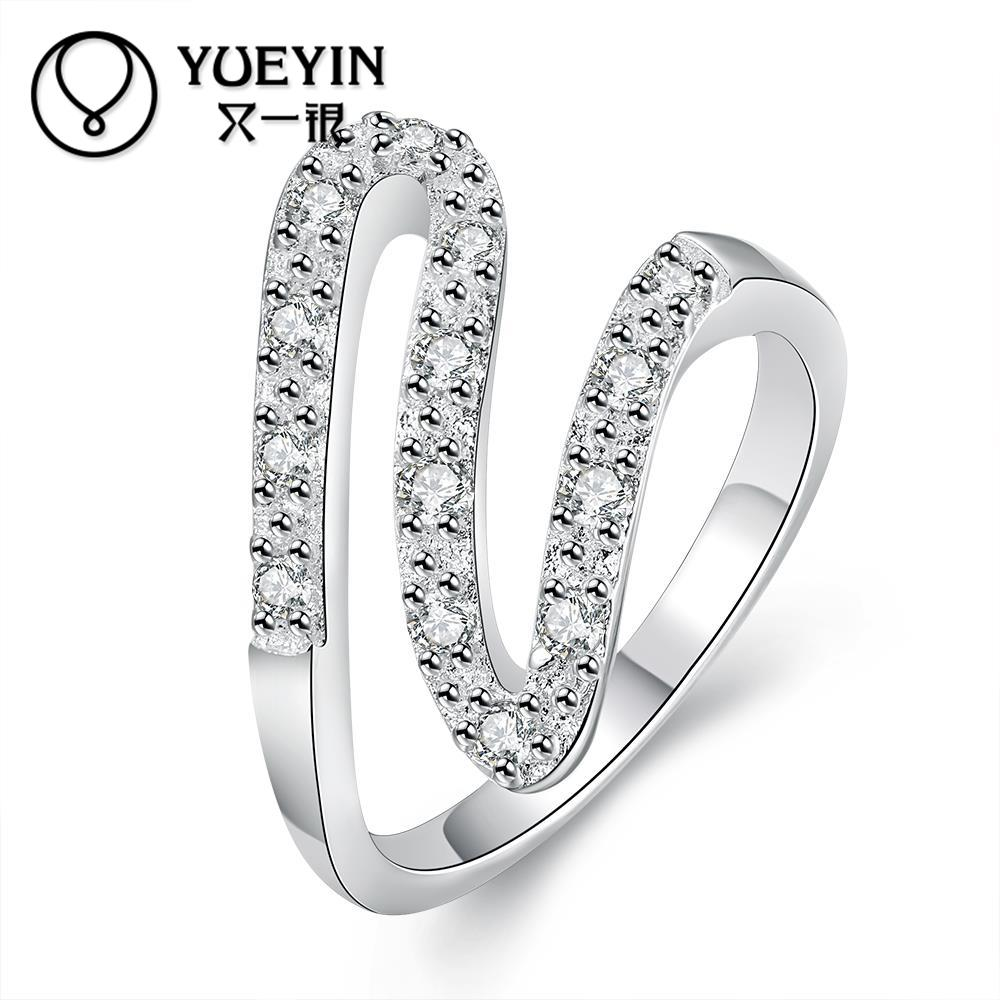 new arrival trendy style silver rings jewelry