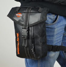 Fashion Men  racing riding pack bags shoulder bag KTM Motocross Messenger chest and leg bag HARLEY Knight Tool  Oxford Leg Bag