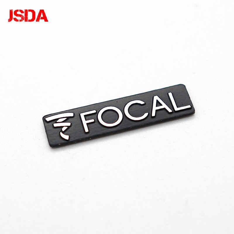 10 Uds. Altavoz de audio Hi-Fi con logo FOCAL 3D de 3,4x0,9 cm, insignia de altavoz, emblema adhesivo con estilo