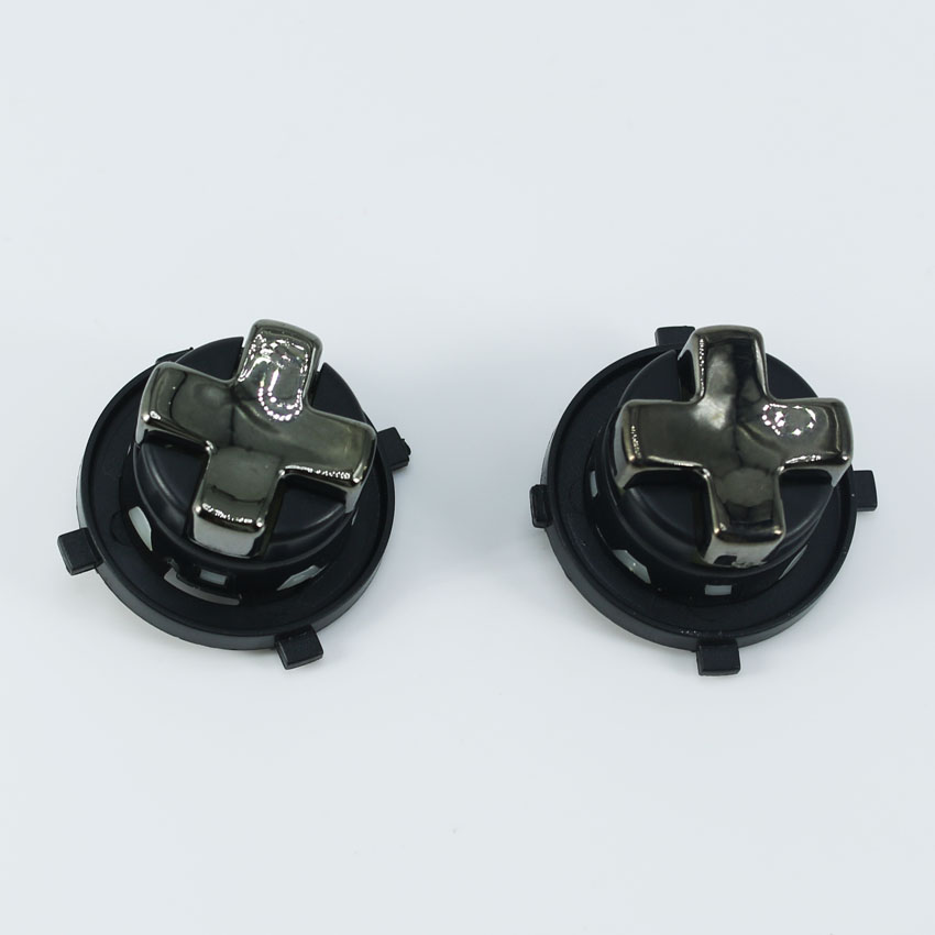 1 pcs Chrome Black Transforming DPAD for Microsoft Xbox 360 Controller Rotating D pad Replacement Control Parts