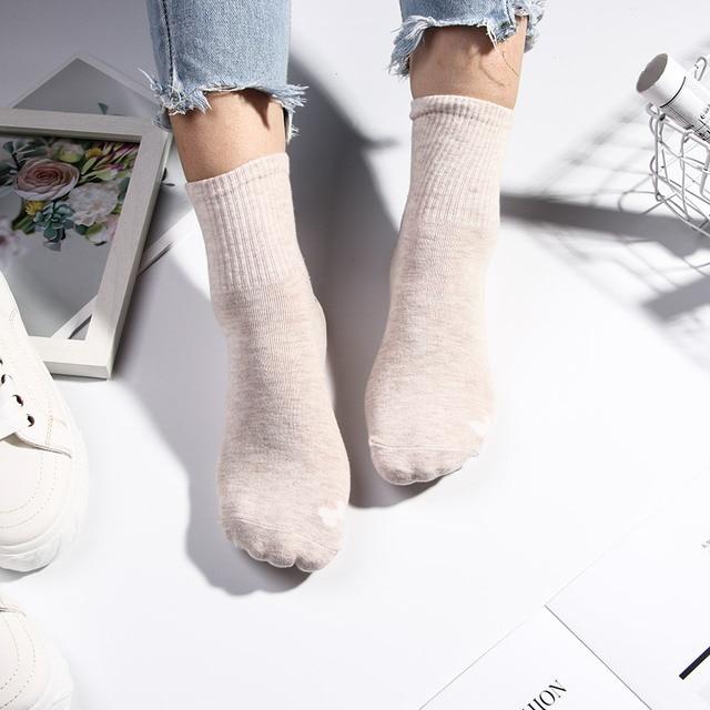 1 paire dames chaussette décontracté belle dessin animé chien Animal Design femmes coton chaussettes printemps été Harajuku femelles Style coréen à la mode