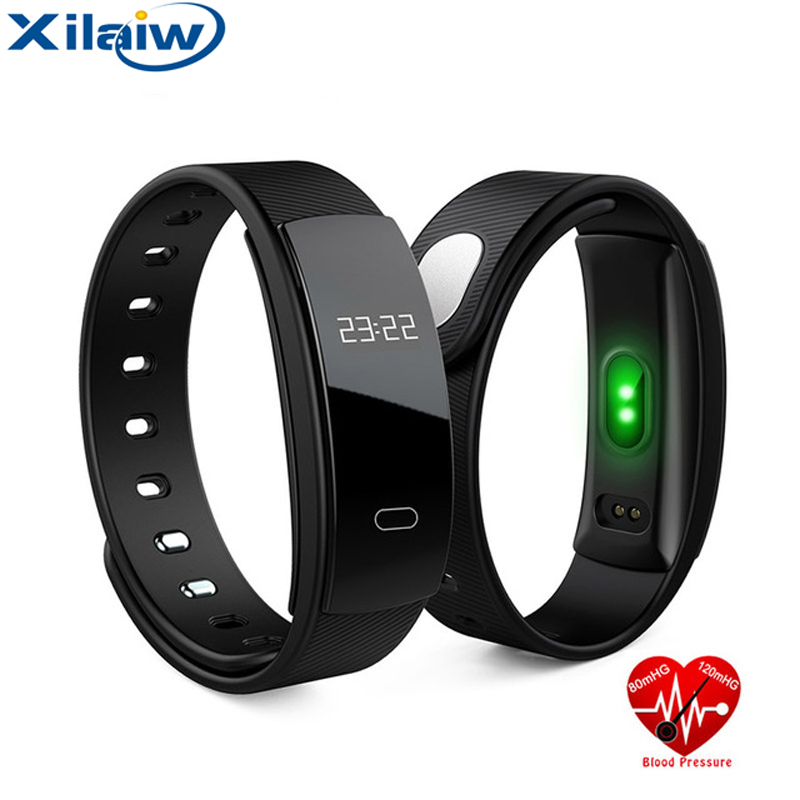 Xilaiw Smart band Wristband Blood Pressure Fitness Tracker Heart Rate Monitor Sleep Tracker Bracelet Smartband For IOS Android