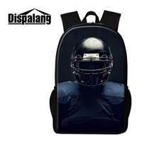 Dispalang Backpack For Men Balls 3D Printed On School Bookbags Trendy Rucksack Design Your Own Day