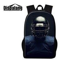 Dispalang Backpack For Men Balls 3D Printed On School Bookbags Trendy Rucksack Design Your Own Day