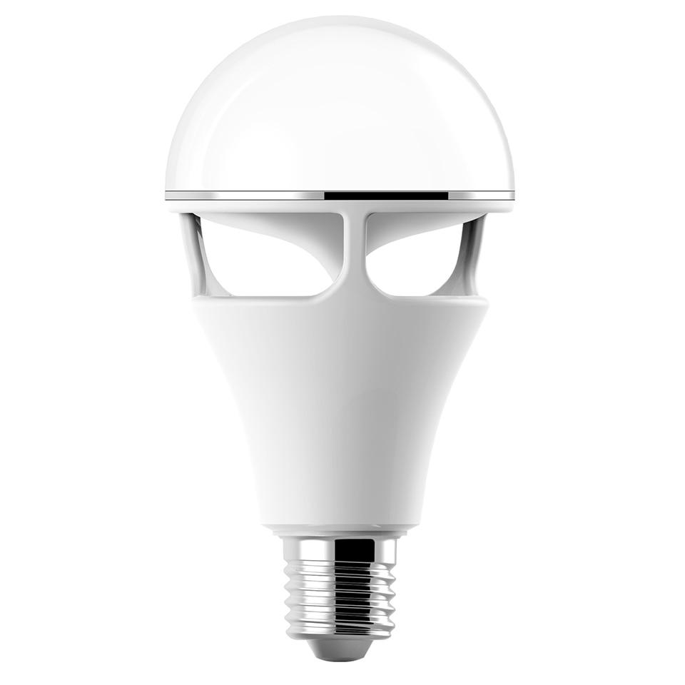 Bluetooth app contrôle haut-parleur ampoule lampe de haute qualité RGBW E27 ampoule avec bluetooth haut-parleur musique jouant coloré haut-parleur ampoule - 2