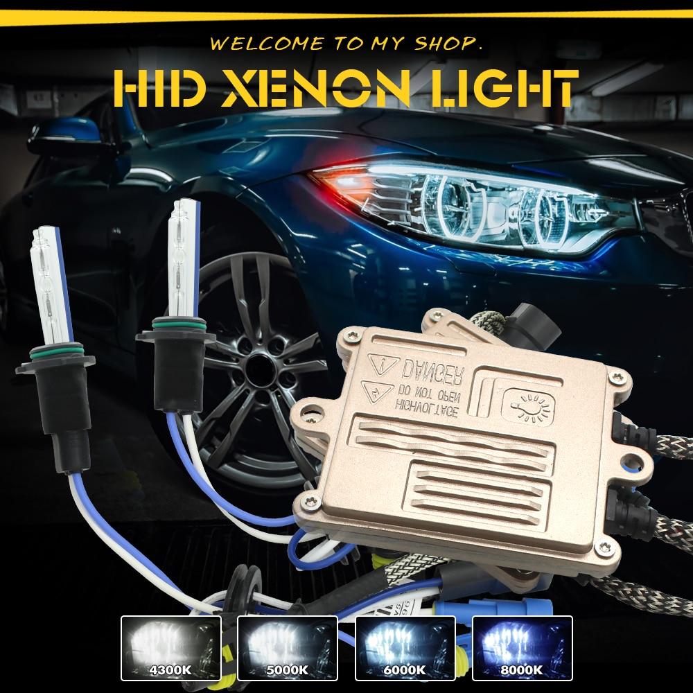 JGAUT HID Xenon Kit AC 55W Car Headlight Quick Start H1 H4 H7 H8 H9 H11 9005 9006 9012 Ballast Bulb 4300K 5500K 6000K 8000K 12v 55w fast bright ballast single beam bulb hid kit h1 h3 h4 h7 h8 h9 h10 9004 9006 881 880 kit xenon hid h7 55w 8000k