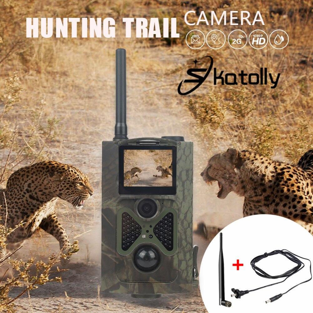 Skatolly Caça Trilha Câmera Caça HC300M 12MP HC-300M Full HD 1080P Night Vision Vídeo MMS GPRS Scouting Câmera Caçador nova