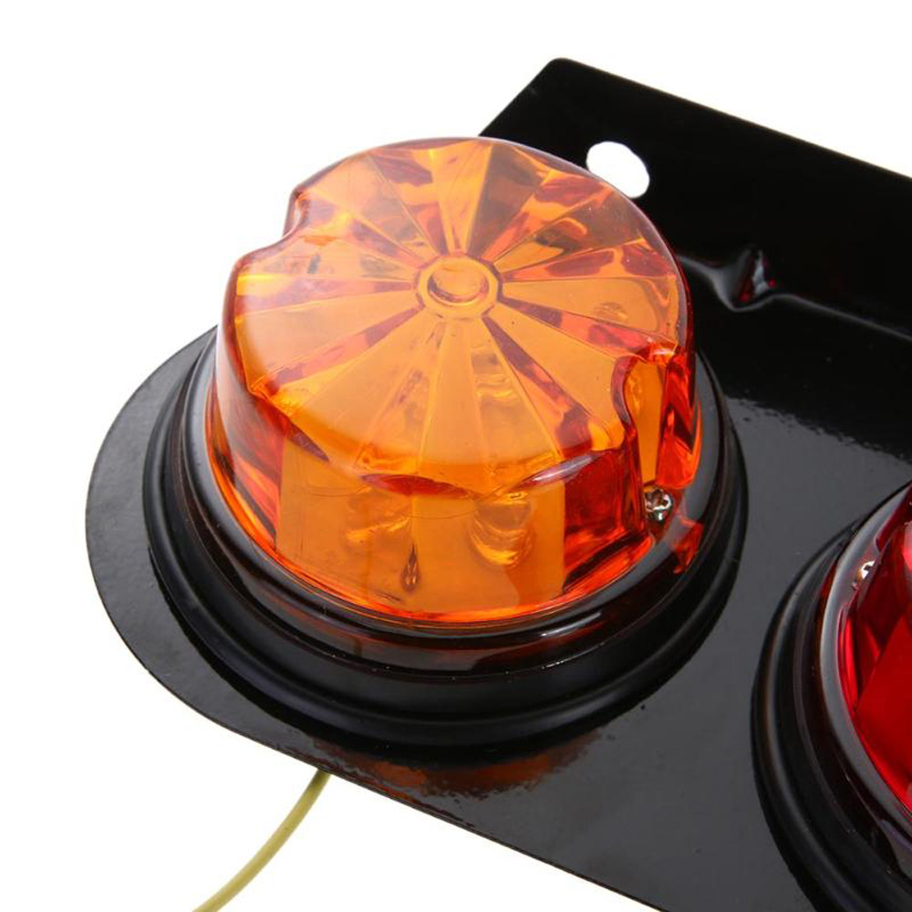 Universal Car Bulb Side Lamp Tail Lights Turning Signal Light For Automobiles Trucks Trailer Bus 24V HEHEMM