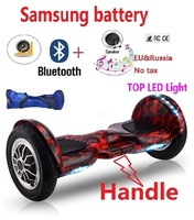 Self Balancing Scooter Electric Skateboard Hoverboard 10 Inch Electric Skate Board Haveboards Scooter Handle Scooter Overboard