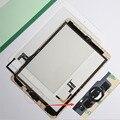 Для iPad Воздуха 1 сенсорный экран ассамблеи Ipad5 пятый сенсорный экран digitizer с home button + flex кабель + держатель камеры завершена