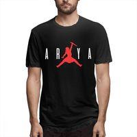 Awsome Ария Старк не сегодня футболка для мужчин новый стильный ТВ серии Игра престолов Homme футболка с круглым вырезом плюс размеры футболка