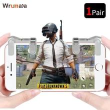Wrumava 1Pair PUBG Mobile Game Fire Button Aim Key Smart pho