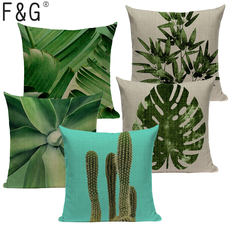 >Plant Cactus Fruit Pineapple Kussenhoes Wedding <font><b>Gifts</b></font> <font><b>Farmhouse</b></font> Hotel <font><b>Pillow</b></font> Case Seat Car Sofa Home Decor Throw <font><b>Pillow</b></font> Cover