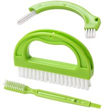 1 Набор щеток для плитки, моющее устройство для очистки ванной и кухни