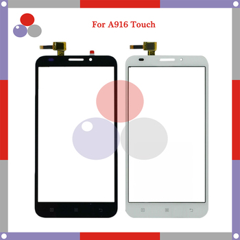 10pcs/lot High Quality  For Lenovo A916 touch Screen Panel Sensor Digitizer Outer Glass Lens