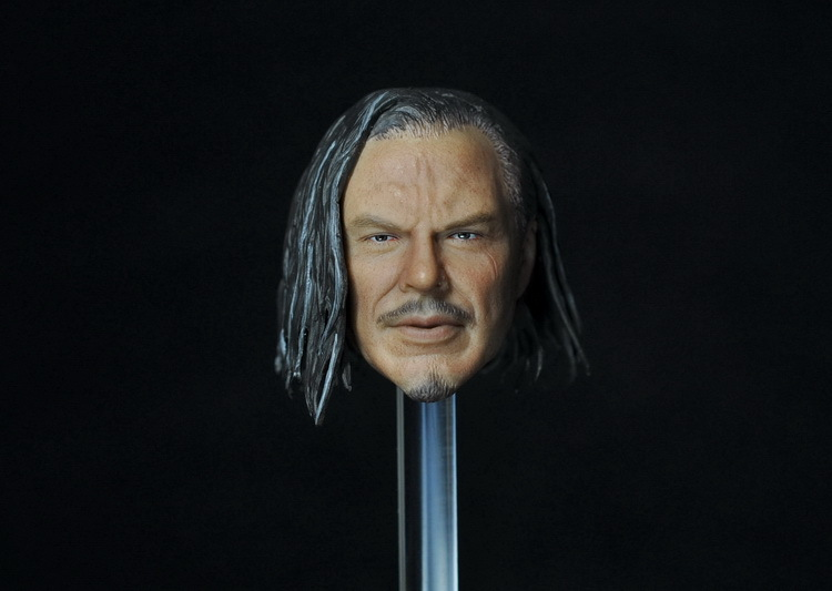 1/6 scale figure doll head shape for 12 action figure doll accessories Iron Man 2 Whiplash Mickey Rourke male Head carved brand new 1 6 scale head sculpt iron man 2 ivan vanko mickey rourke head sculpt accessorise for 12 action figure model toy