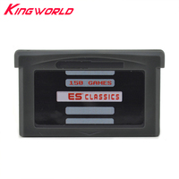For GameBoy GameBox Advance Black 150 In 1 Game Card Game Cartridge For GBA Multi Games