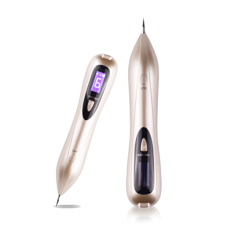 2018 Newest Dot Mole Removal Portable Massage Skin Care Dark Spot Speckle Age Nevus Tattoo Pigment Removal Beauty Pen Equipment