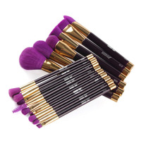 Wholesale Retail 15PCS Hot Selling High Quality Cosmetic Professional Makeup Brush Makeup Brush Eyeshadow Brush Ship