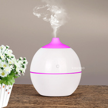 130 ML USB Aroma Essential Oil Diffuser Ultrasonic Cool Mist Humidifier Air Purifier With LED Night light for Office