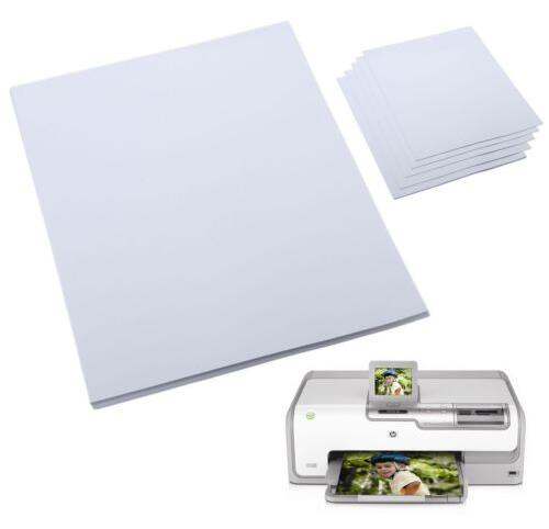 A4 230gsm Luminous Glossy Photo Paper For Inkjet Printer 2 to 50 Sheets цена