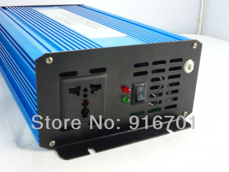 2000 watt 2000W Pure Sine Wave Power Inverter with CE DC 12V TO AC 220V - 240V, ROHS approved 4000 4000W peak power цена и фото