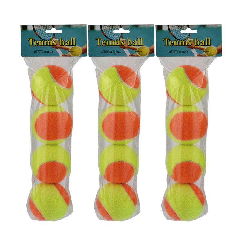 12pcs Beginner Child or Adult Training (Transition) Practice Tennis Balls (25%-75% Slower Ball Speed) 27