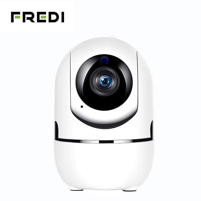 FREDI 1080 p seguimiento automático de la Cámara cámara IP WiFi Monitor de bebé hogar de la cámara de seguridad IP de la visión nocturna IR inalámbrico de vigilancia CCTV cámara